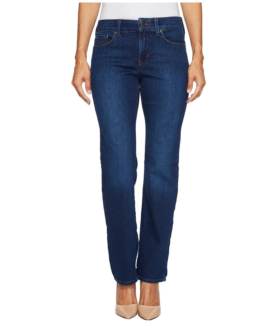 NYDJ Petite Petite Marilyn Straight Jeans in Cooper (Cooper) Women
