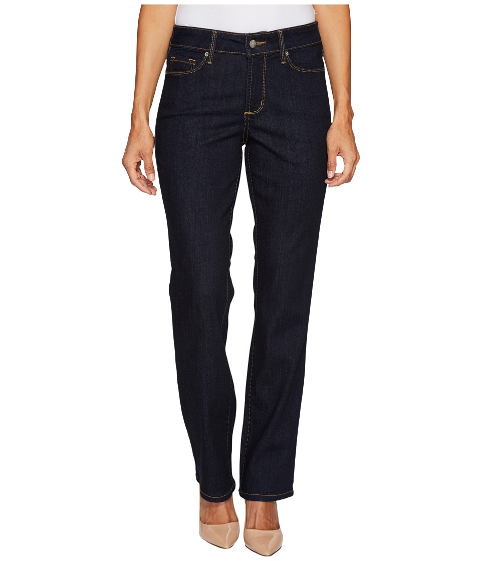 NYDJ Petite Petite Marilyn Straight Jeans in Larchmont Wash (Larchmont Wash) Women