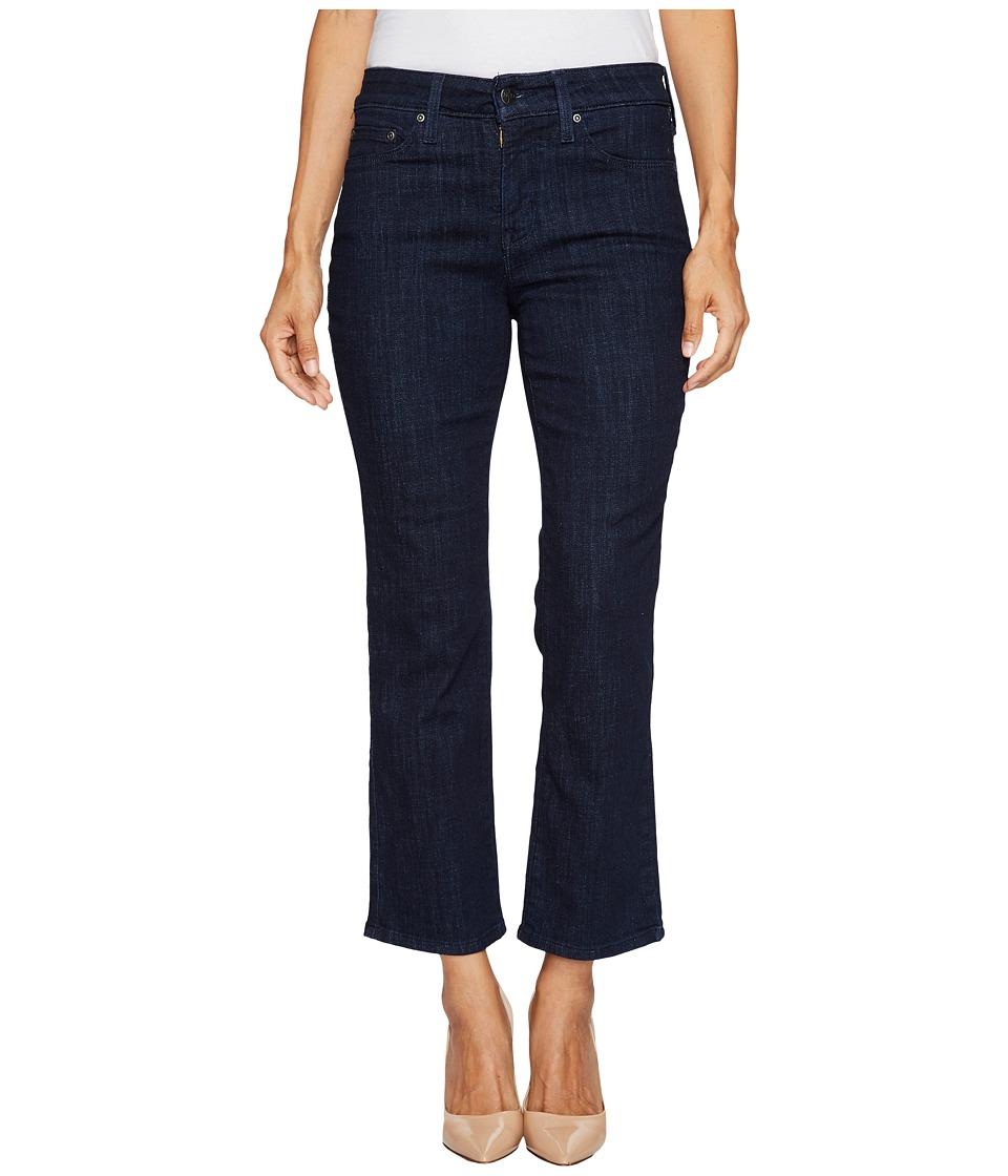 NYDJ Petite Petite Marilyn Straight Jeans in Crosshatch Denim in Rambard (Rambard) Women