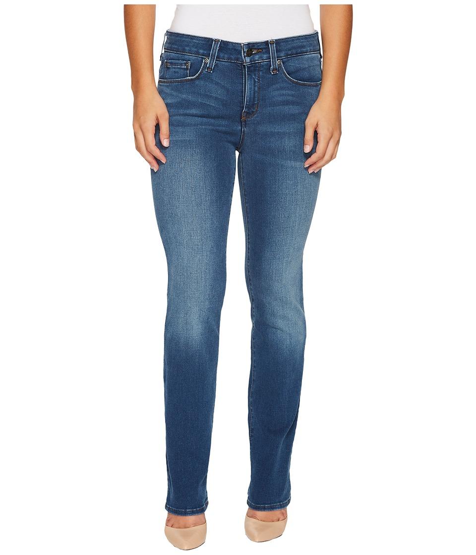 NYDJ Petite Petite Marilyn Straight Jeans in Smart Embrace Denim in Noma (Noma) Women