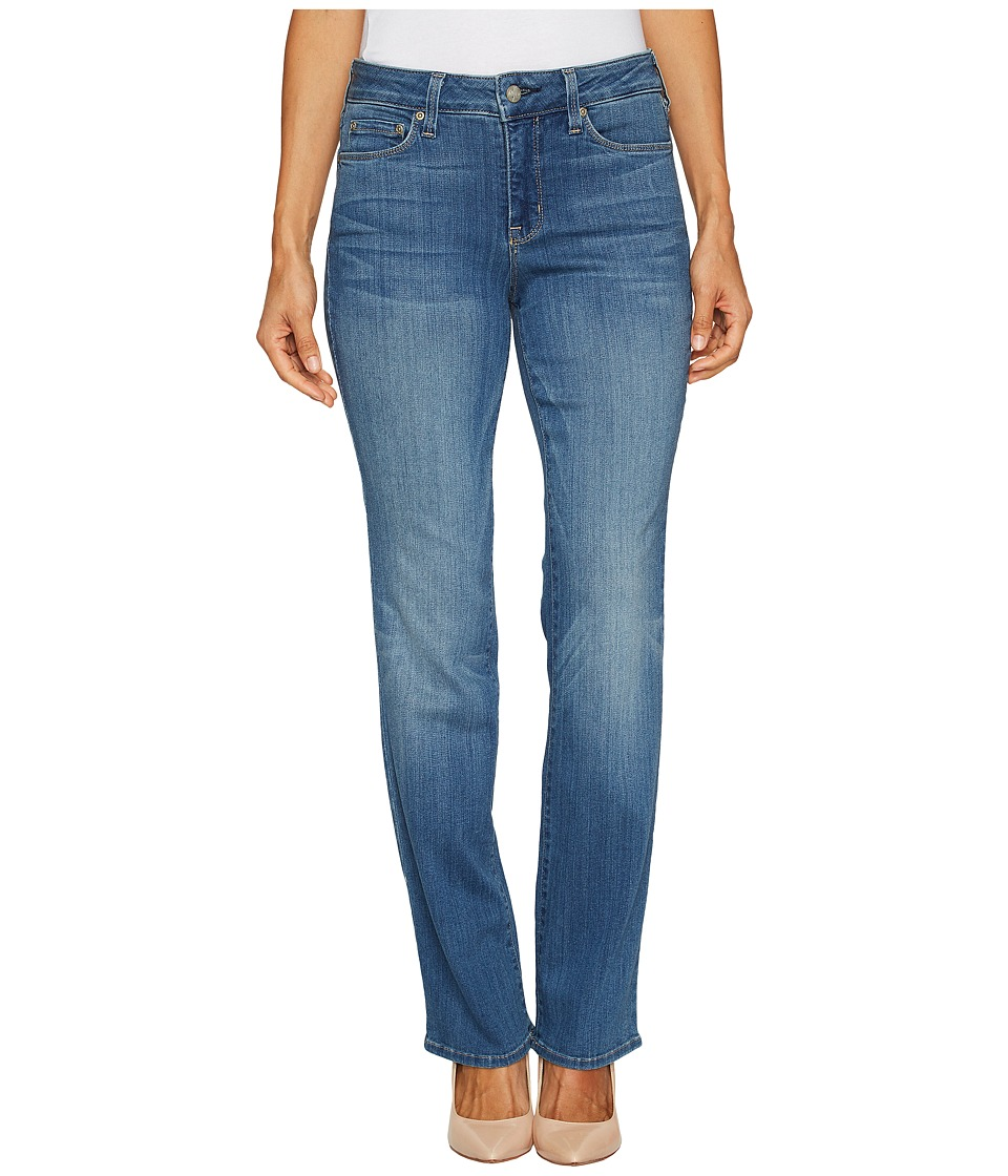NYDJ Petite Petite Marilyn Straight Jeans in Sure Stretch Denim in Colmar (Colmar) Women