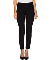 NYDJ Petite - Petite Pull-On Legging Pants w/ Ankle Zip in Black