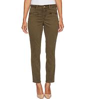 NYDJ Petite - Petite Skinny Chino Pants w/ Zipper in Dry Sage