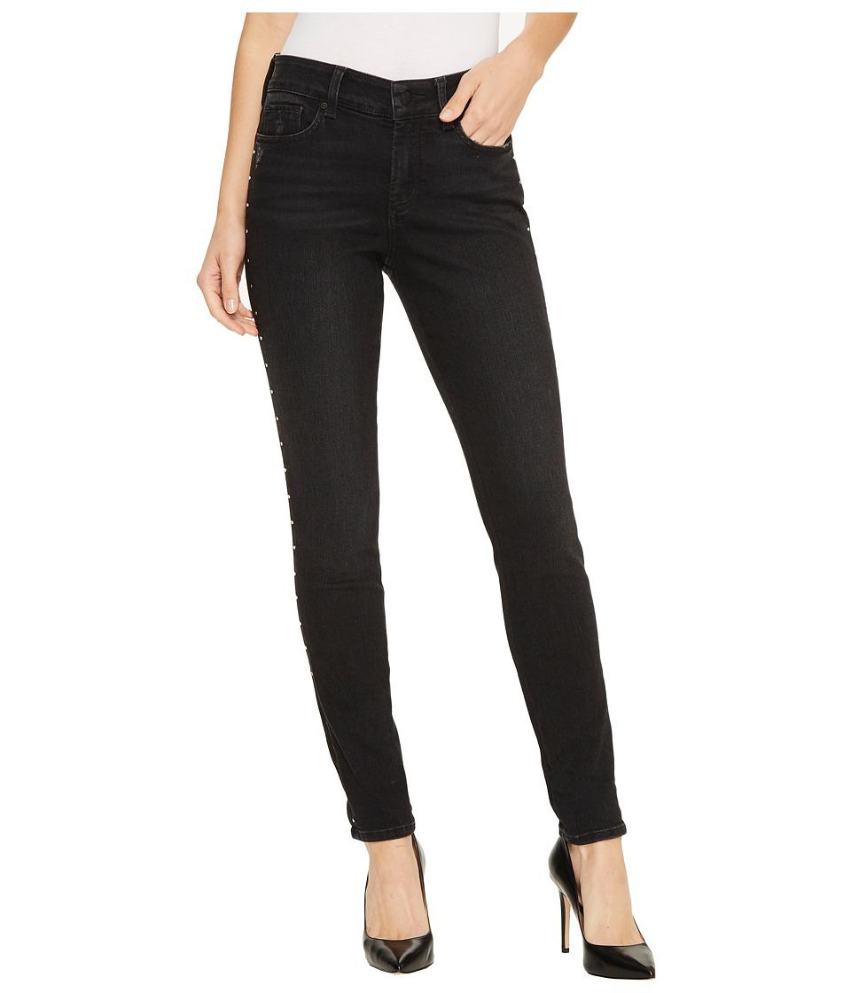 NYDJ - Ami Skinny Legging Jeans w/ Studs in Future Fit Denim in Campaign (Campaign) Womens Jeans