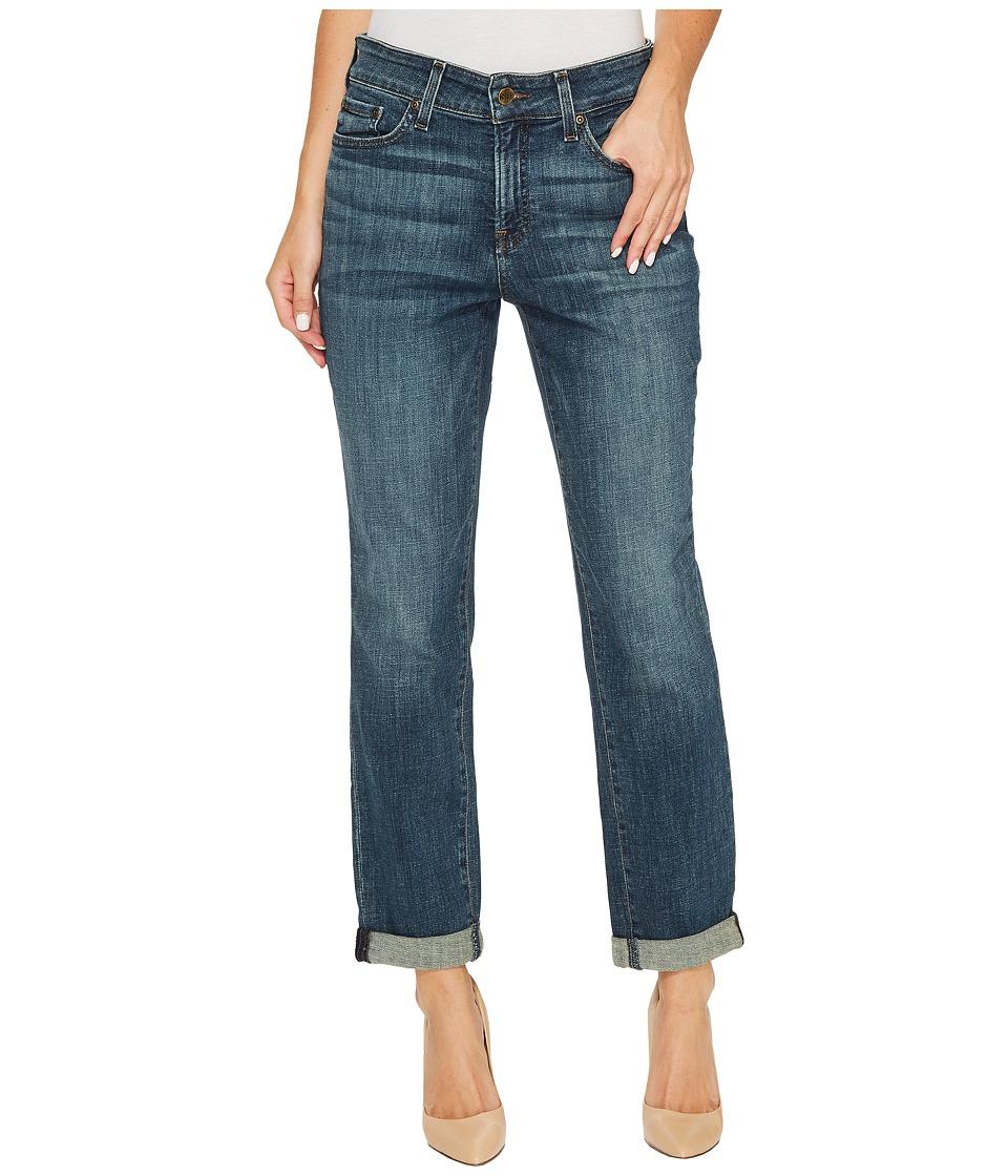 NYDJ - Boyfriend Jeans in Crosshatch Denim in Desert Gold (Desert Gold) Womens Jeans