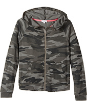 Splendid Littles - Camo Print Hoodie Jacket (Big Kids)