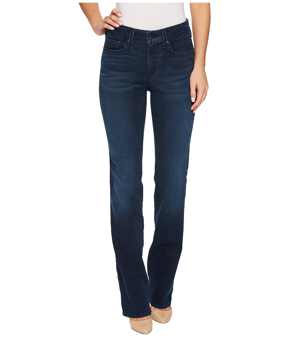 NYDJ - Marilyn Straight Jeans in Smart Embrace Denim in Morgan (Morgan) Womens Jeans