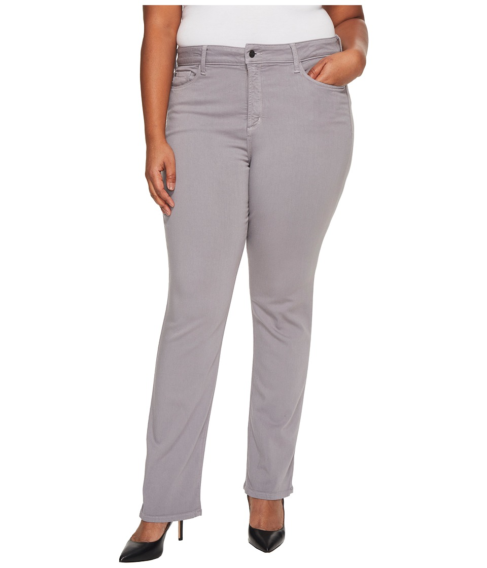 NYDJ Plus Size Plus Size Marilyn Straight in Luxury Touch Denim in Mineral (Mineral) Women