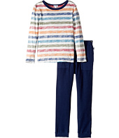 Splendid Littles - Reverse Printed Stripe Shirt and Pants Set (Little Kids/Big Kids)