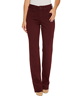 NYDJ - Marilyn Straight Jeans in Luxury Touch Denim in Deep Currant