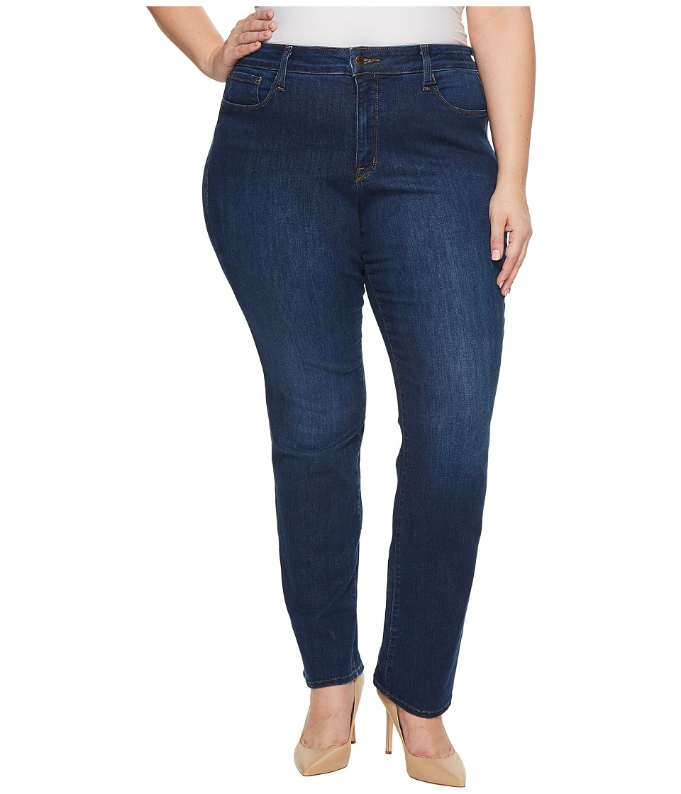 NYDJ Plus Size - Plus Size Marilyn Straight Jeans in Cooper (Cooper) Womens Jeans