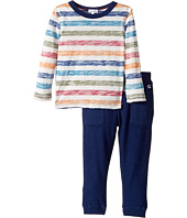 Splendid Littles - Reverse Printed Stripe Shirt and Pants Set (Toddler)