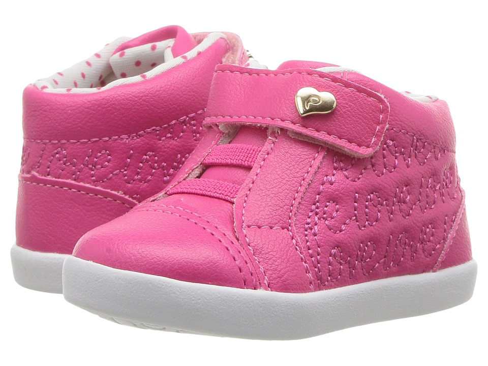 Pampili Pom Pom 108051 (Infant/Toddler) (Pink) Girl's Shoes