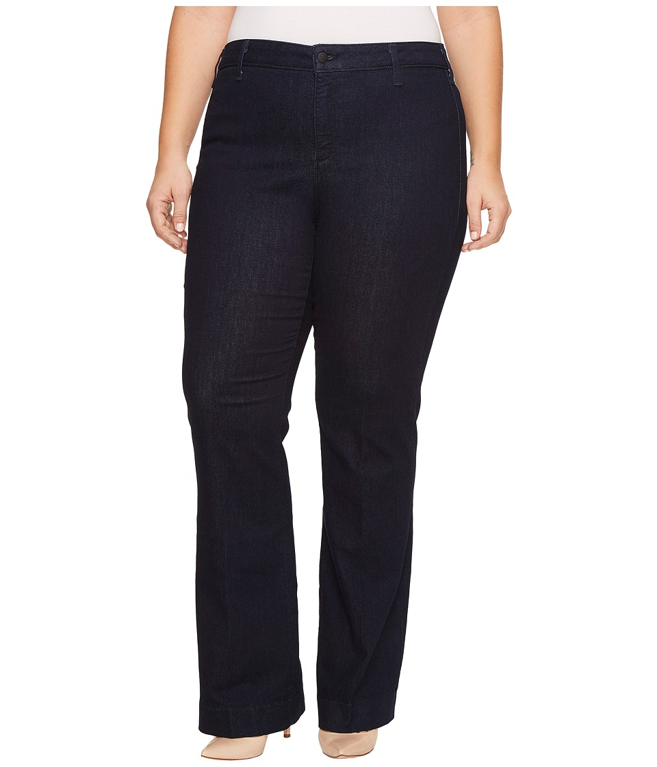 NYDJ Plus Size - Plus Size Teresa Trouser Jeans in Rinse (Rinse) Womens Jeans