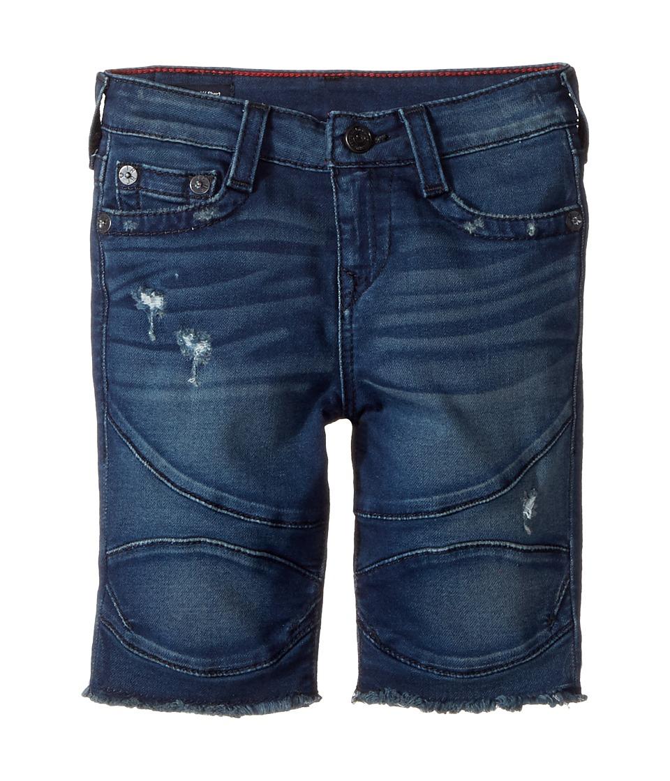 True Religion Kids - Geno French Terry Moto Shorts