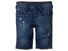 True Religion Kids - Geno French Terry Moto Shorts (Toddler/Little Kids)