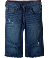 True Religion Kids - Geno French Terry Moto Shorts (Big Kids)
