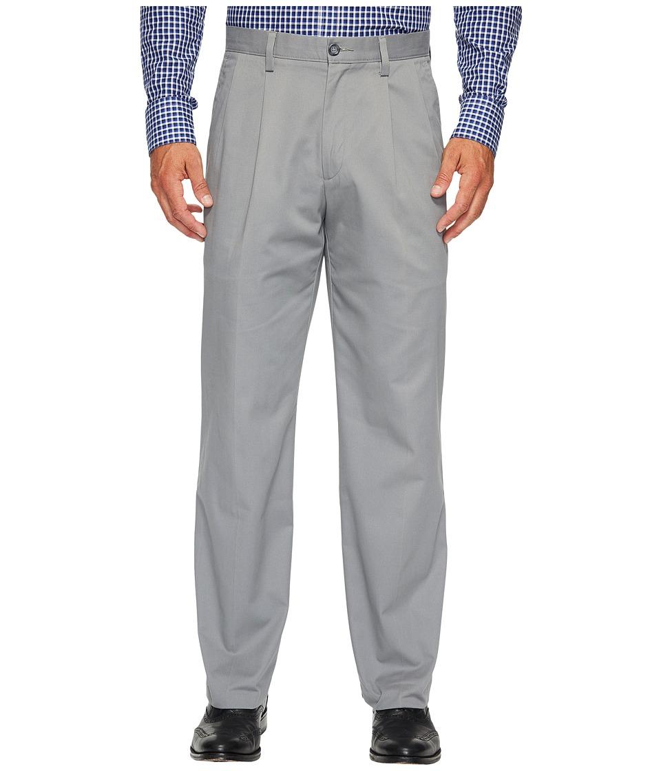 Dockers Easy Khaki D3 Classic Fit Pleated Pants (Gravel) ...