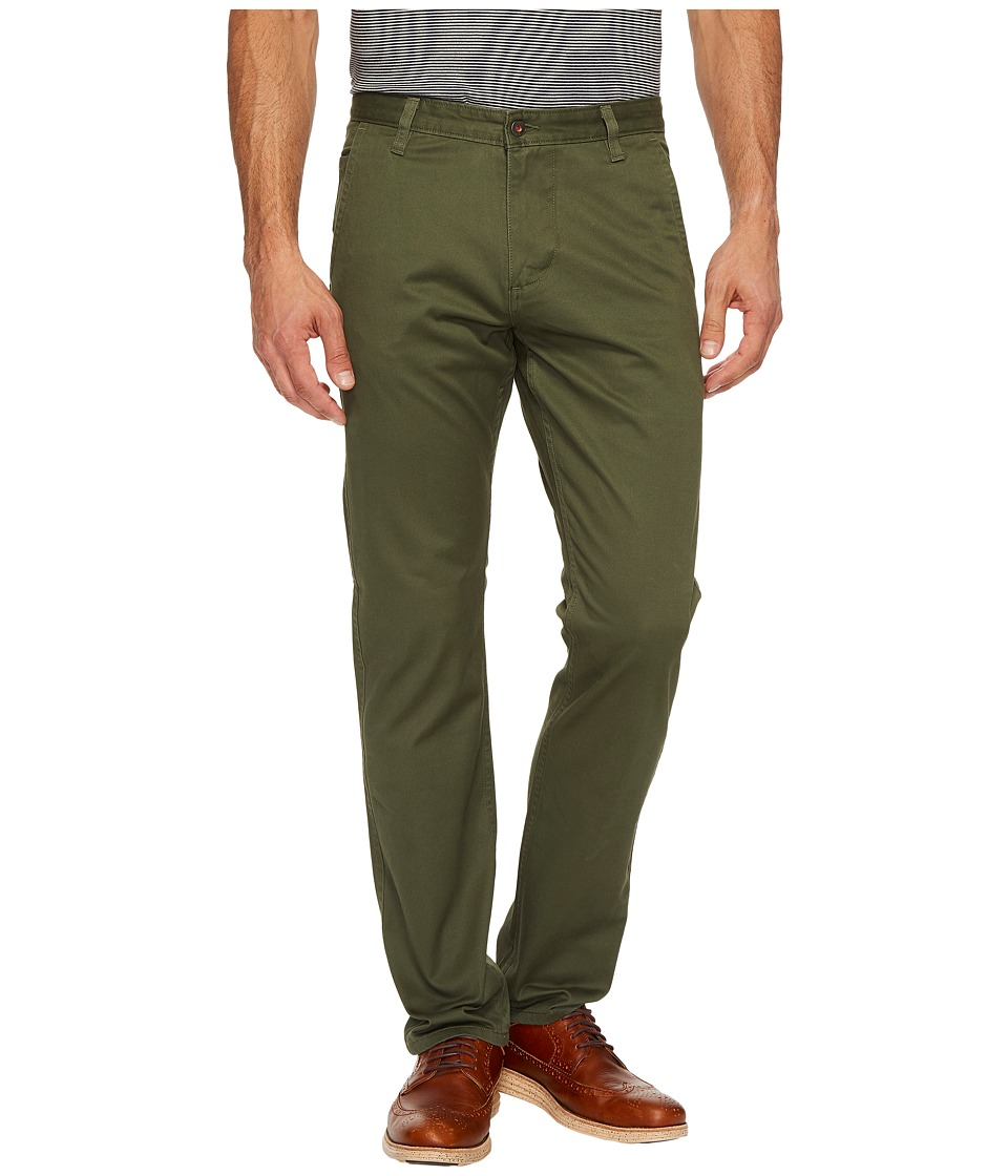 Dockers - Alpha Khaki Slim Tapered Fit Pants (Dockers Olive) Mens Clothing
