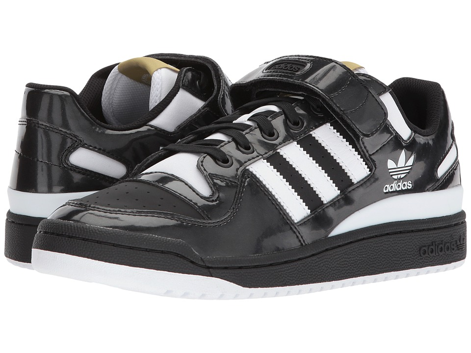 adidas Originals - Forum Lo (Core Black/Footwear White/Gold Metallic) Mens Classic Shoes