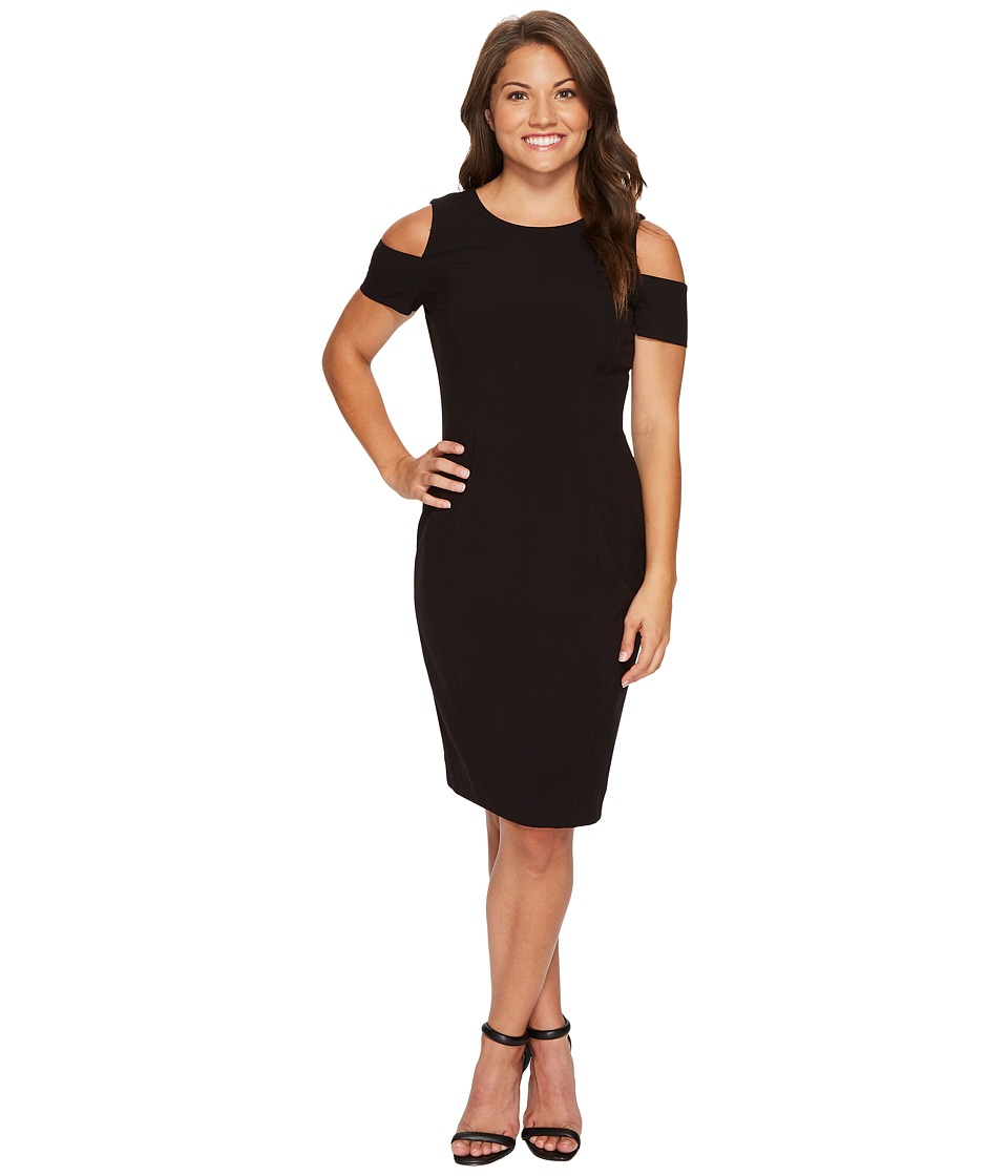Tahari by ASL Petite - Petite Cold Shoulder Sheath Dress