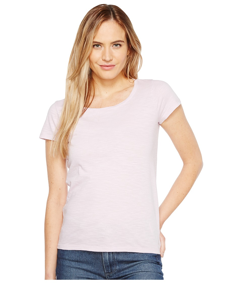 Calvin Klein Jeans Essential Scoop Neck T-Shirt (Opal Pink) Women