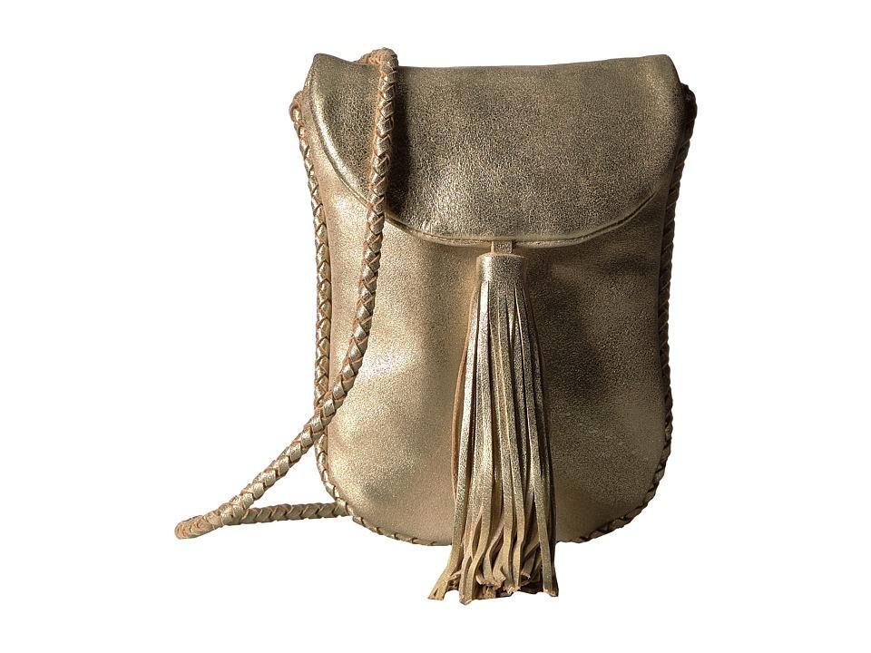 Lucky Brand Aspen Pouch (Light Gold) Handbags