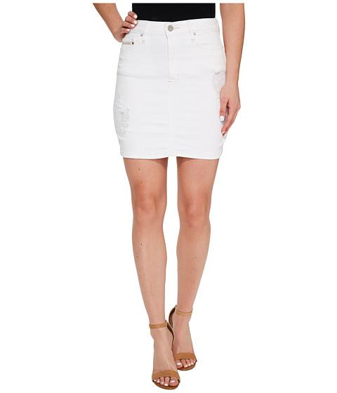 Calvin Klein Jeans Destructed Mini Skirt