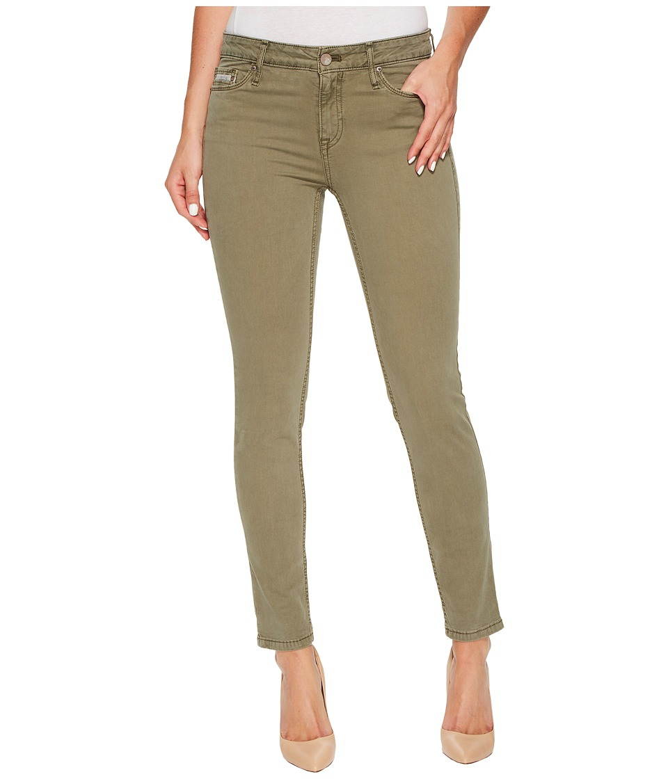 Calvin Klein Jeans Garment Dyed Ankle Skinny Pants in Ivy Mist (Ivy Mist) Women