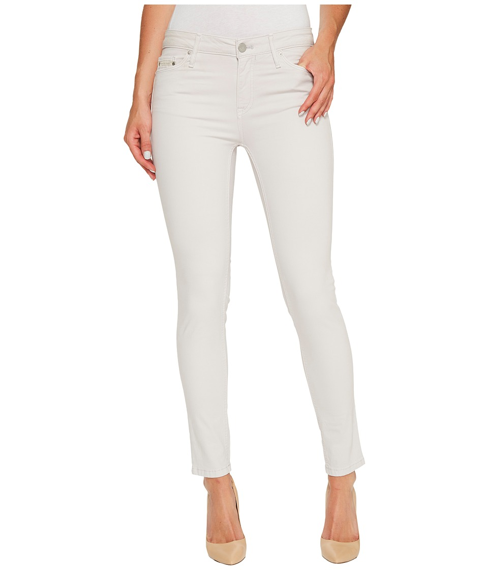 Calvin Klein Jeans Garment Dyed Ankle Skinny Pants in Lilac Marble (Lilac Marble) Women