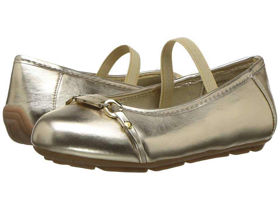 MICHAEL Michael Kors Kids - Rover Reeder (Toddler) (Gold) Girls Shoes