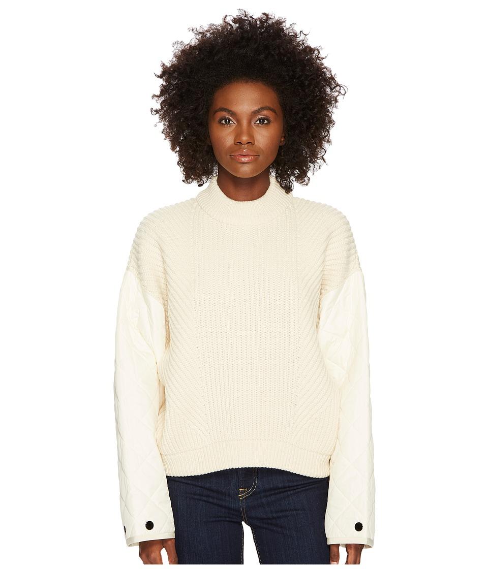 Sportmax - Casa Runway Chunky Sweater (Ivory) Womens Sweater