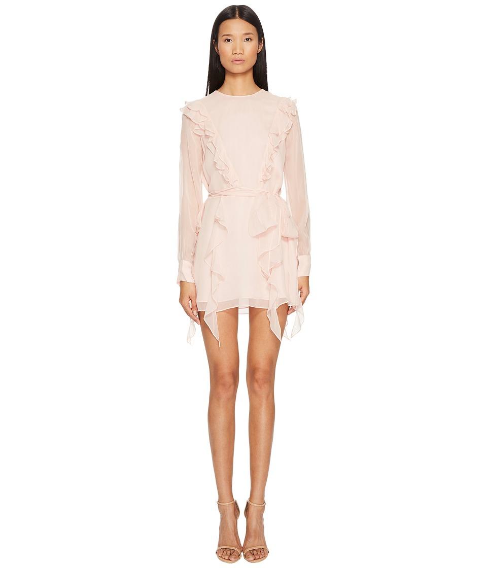THOMAS WYLDE - Usbeorn Flutter Silk Chiffon Dress