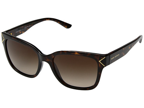 Tory Burch 0TY9050 - Dark Tortoise/Gold Metail Details/Brown Gradient