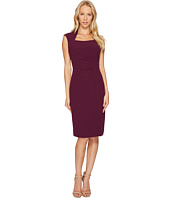 Tahari by ASL - Square Neck Sheath Dress