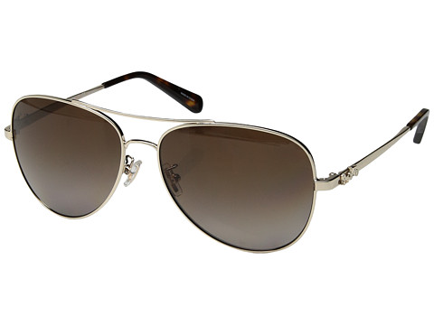 COACH 0HC7074 - Light Gold/Brown Gradient Polarized