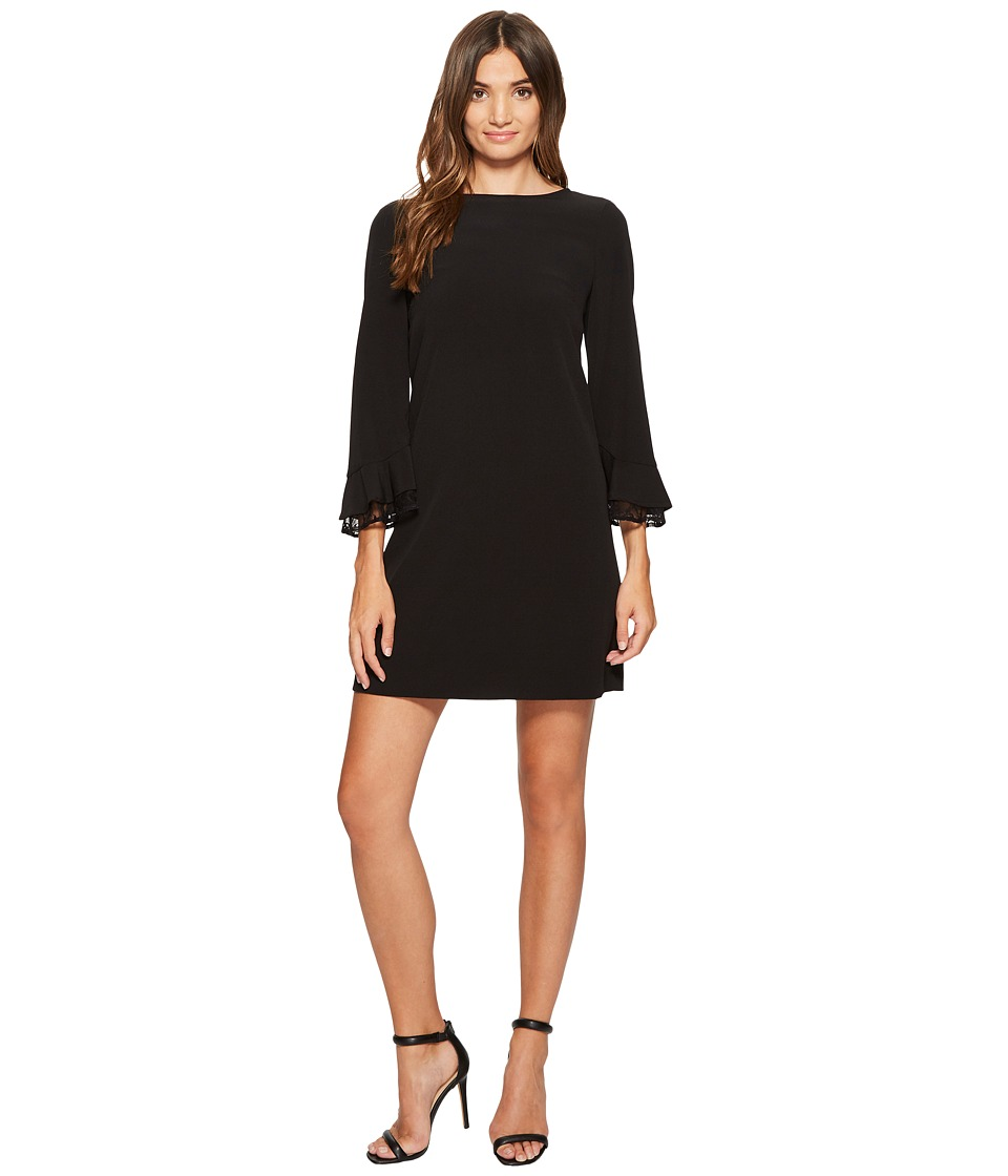 Tahari by ASL - Lace Yoke Shift Dress