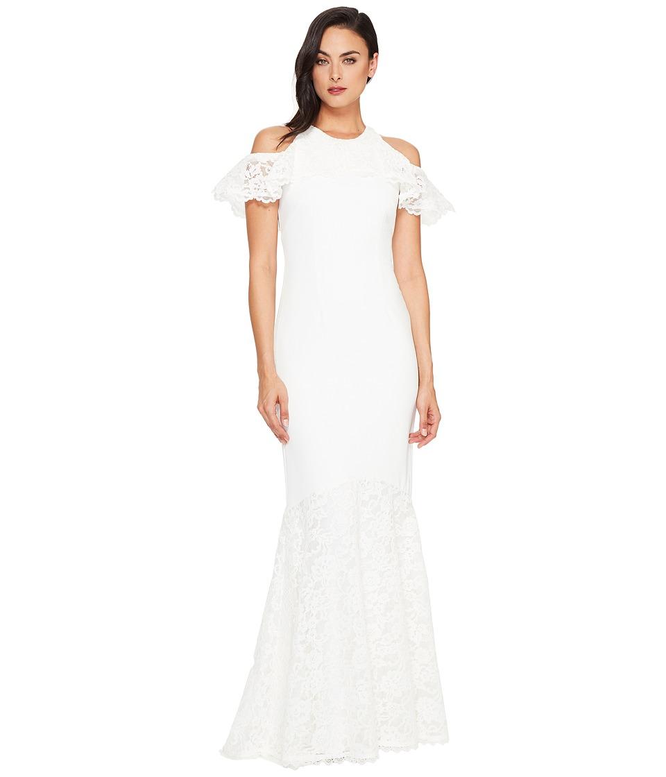Nicole Miller Carlessa Bridal Gown (White) Women