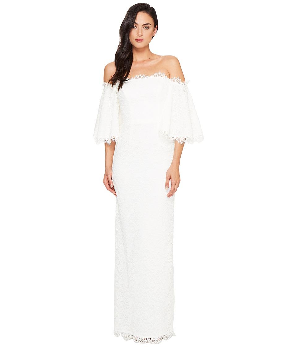 Nicole Miller Devyn Lace Bridal Gown (Ivory) Women