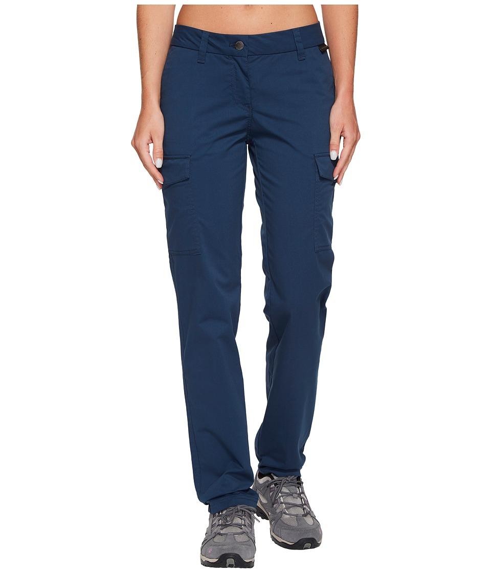 Jack Wolfskin Liberty Cargo Pants (Midnight Blue) Women