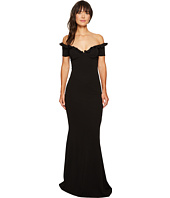 Nicole Miller - Audrey Off Shoulder Ruffle Gown