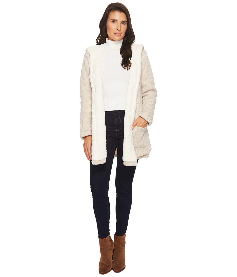 Mod-o-doc - Sweater and Faux Fur Reversible Cardigan Jack...