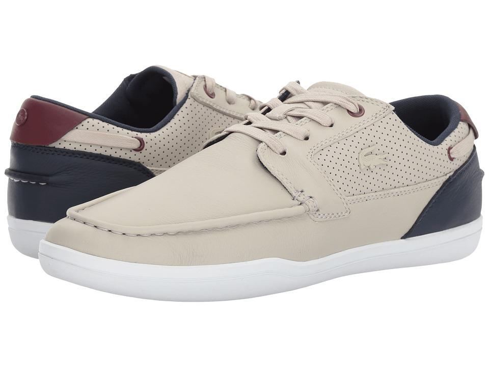 Lacoste Deck-Minimal 317 1 (Light Grey/Navy) Men