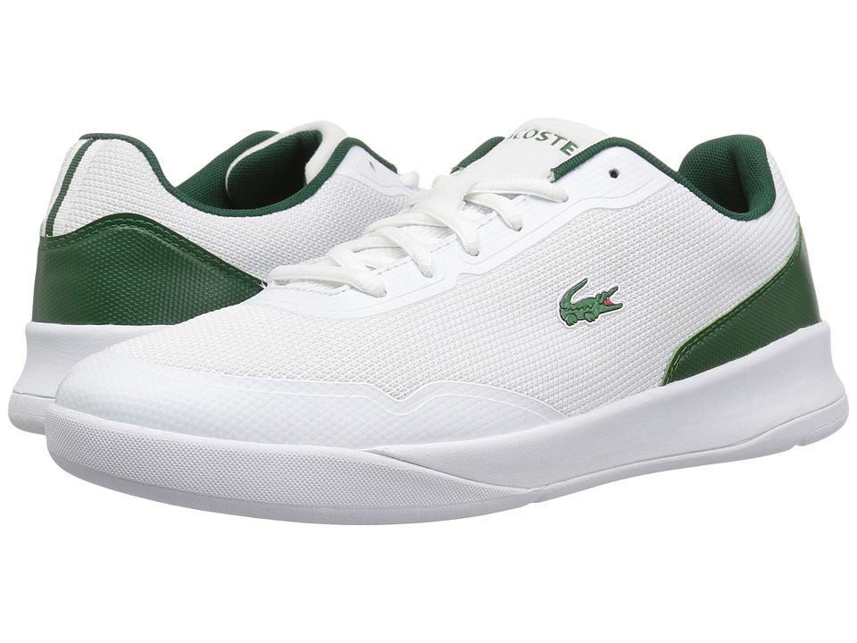 Lacoste - LT Spirit 317 2 (White/Green) Mens Shoes