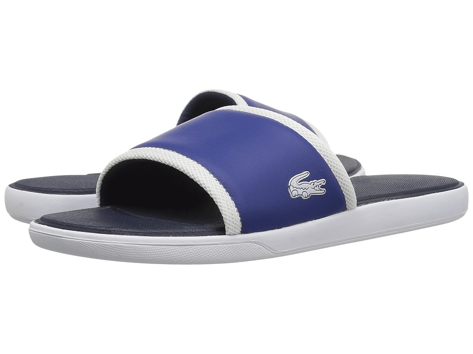 Lacoste - L.30 Slide 317 1 (Dark Blue) Mens Shoes
