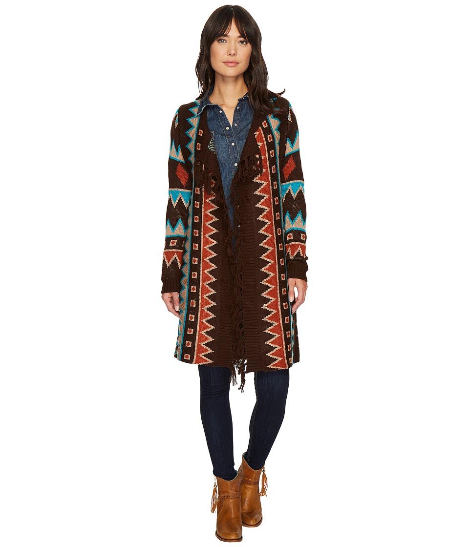 Wrangler - Aztec Sweater Cardigan