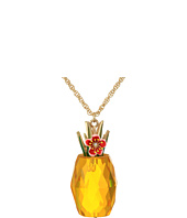 Betsey Johnson - Pineapple Pendant Long Necklace