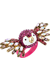 Betsey Johnson - Tropical Pave Parrot Ring