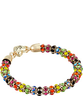 Betsey Johnson - Rainbow Stone Mesh Bracelet