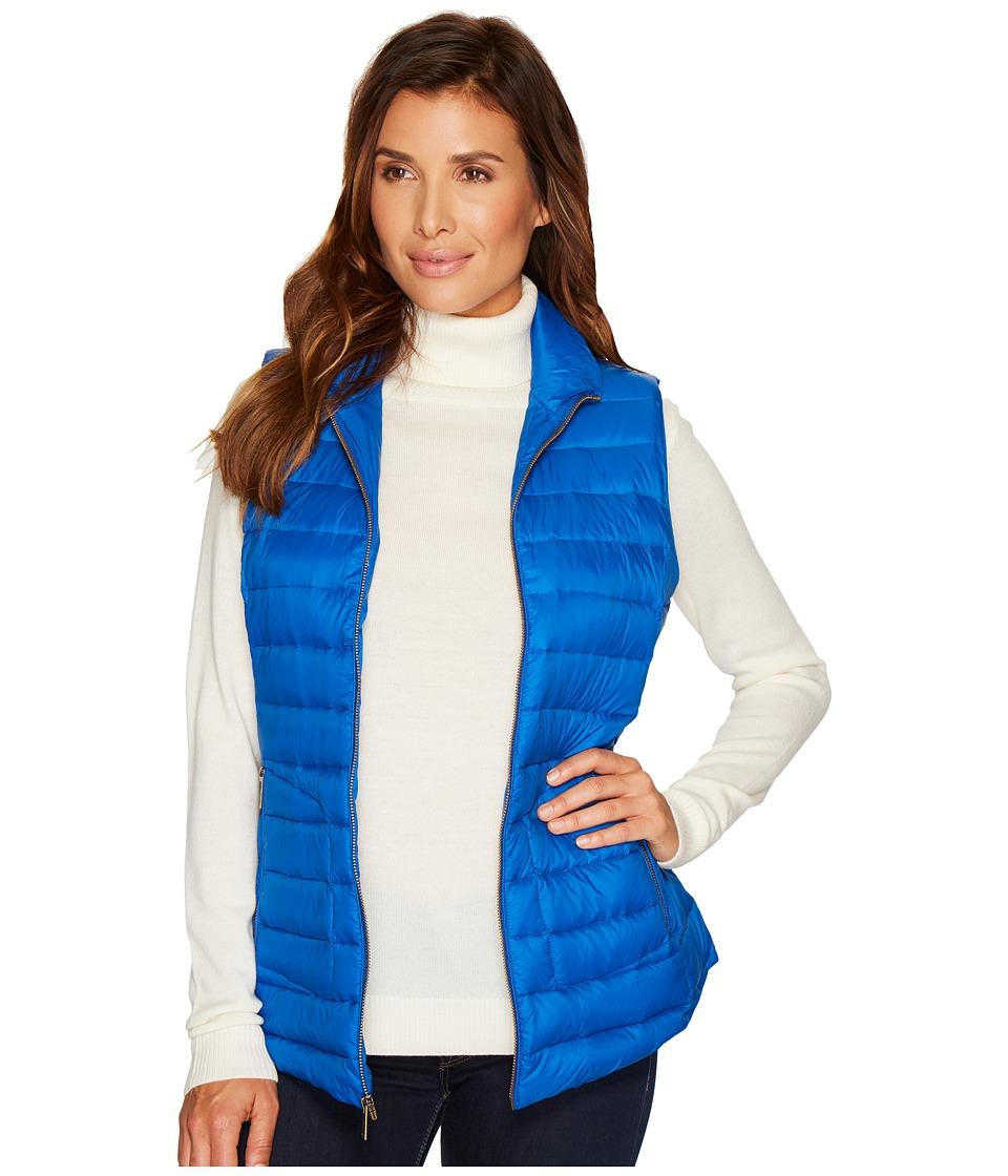 Pendleton Zip Front Vest (Bright Blue) Women